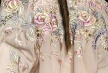Floribunda Fashion Inspiration / Soft sugary pastel images of mostly flowers & confections that have inspired fashions, embroidery, ribbon-work and beading; colours, pattern and shapes to adapt, stylise, and maybe encourage creativity ....