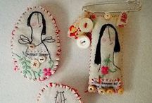 Textile Brooches & Pins