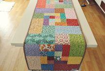 Patchwork / Patchwork e trabalhos em tecidos (diversos artesãos)