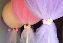 Parties and events / Idéias para aniversários, chás, festas em geral.