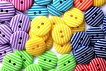 Craft supplies / Buttons, ribbons, threads...