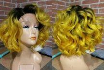 Mayvenn #WigWerk / Wigs created by Mayvenn stylists using Mayvenn Hair. All photos showcase a wig, worn or dispalyed.