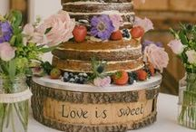 Rustic Themed Presentation & Cakes