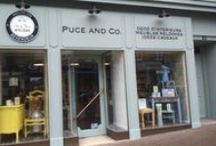 Puce and Co. - La boutique / Notre boutique très colorée est situé dans le sud manche(50). Venez voir ou visitez notre site internet www.puceandco.com ou notre page facebook.