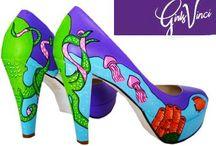 Sapatos Personalizados GirlsVinci / Sapatos personalizados a pensar em si! Encomende já os seus! Customized shoes. Thinking about you! Order yours now! http://www.girlsvinci.com/customize.html