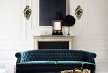 Home interiors / Finding the right balance of contemporary elegance and retro chic for a small living area