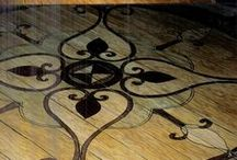 painted floors / by Michelle Brewer