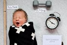 Birth Announcement / Unique ways of announcing the birth of your baby.