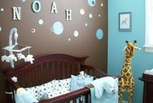 Nursery Ideas / Gorgeous ideas to inspire you when you decorate your baby's nursery!