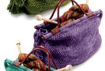 Crochet + Knitting   Bags