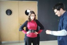 Behind the scenes of adini feriha koydum