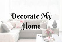 Decorate My Home...