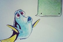 |Childhood animation| / Disney, Pixar and others.