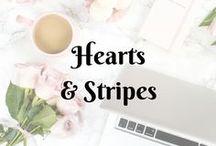 Heart & Stripes...