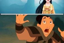 |Mulan| / Screw being a princess, I wanted to save China.