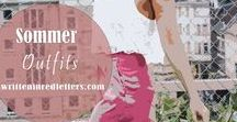 Sommer Outfits / Sommerliche Outfits. Mode, die perfekt für die warmen Tage ist: Sommerkleider, Shorts etc.
