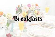 Breakfasts...
