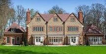 Case study- Beachwood House / Luxury meets functionality in this idyllic Surrey new build. Finished to the finest standard throughout, the new build boasts a definitive Georgian influence and with over 80 Georgian style windows spread across the entirety of the property, it's a perfect replication of a traditinal country mansion from the famous and historic era.
