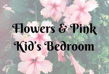 Flowers & Pink Kid's Bedroom