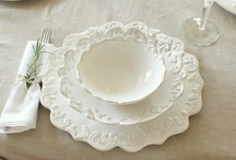 Tavola in bianco / White tablescapes