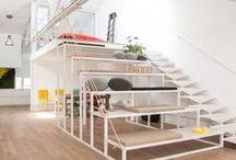 Oficinas de clientes / Un ejemplo de cómo una oficina dentro del edificio David puede convertirse en un espacio único de trabajo.