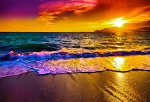 Life is a Beach I'm just playing in the sand.  / I love the sun, beach and sunsets.  / by Melanie