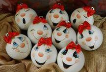 Χριστουγεννιάτικες κατασκευές - Christmas crafts / Χριστουγεννιάτικες κατασκευές - Christmas crafts