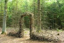 Art Naturel,  Land Art / La nature en sculpture ou comment faire de l'art avec ce que la nature nous offre