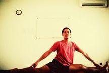 My yoga / Step by step im doing yoga