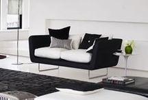 Black & White  / #ideas #decoración #blackandwhite #color