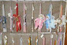 Πασχαλινές Λαμπάδες / Χειροποίητες πασχαλινές λαμπάδες, διαθέσιμες στο http://www.Lucas.com.gr  Πώληση χονδρική - λιανική