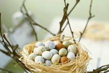 Pâques, Easter / Pour fêter le printemps et Pâques