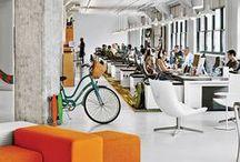 Diseño interior de oficinas / Un espacio donde poder acudir en busca de buenas ideas para decorar tu oficina o espacio de trabajo
