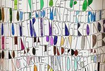 Dessins, drawings / Dessins coloriages collages carnets croquis