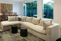 Sofas / Gaudion Furniture offers a large range of upholstered sofas. We custom make and are happy to help you with your selection and choice of fabric.