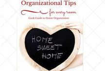 Home Organization Tips / Tips, tricks, and how to information about organization and storage solutions for every room in your house.
