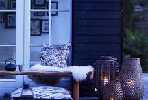 Porches & Outdoor Spaces. / Porches (closed-in & open), courtyards, balconies, conservatories, outdoor nooks & areas, patios, verandas, barns...