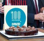Celebración 100 Aniversario David, S.A. / El 20 de octubre de 2014 se celebró en las instalaciones del Edificio David de Barcelona el 100 aniversario de la empresa. En este tablero encontrarás imágenes de dicha celebración que a todos nos llenan de orgullo y nos emocionan.