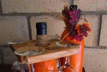 Wine Bottle Crafts / So many ways to reuse an empty wine bottle!