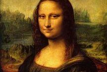 """Mil Faces de Gioconda / Mona Lisa / Autor obra original Leonardo da Vinci, data:1503-1561, localização Museu do Louvre Mona Lisa (""""Senhora Lisa"""") também conhecida como A Gioconda (em italiano: La Gioconda, """"a sorridente"""". Em francês, La Joconde ou ainda Mona Lisa del Giocondo (""""Senhora Lisa esposa de Giocondo"""") Esta obra é provavelmente o retrato mais famoso na história da arte.  E também a  mais questionada, elogiada, comemorada, reproduzida e""""photoshopada"""" da história."""