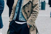 Men's Street Style Inspiration / Men's style inspiration