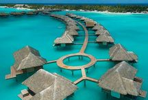 Exotic Island Travel / Territories: Bora Bora, Fiji, Galápagos Islands, Hawaii, Tahiti, Turks & Caicos, Cook Islands