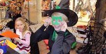 Kinderanimation zu Halloween / Wir haben die richtigen Programme für alle Geister, Hexen und Gespenster. Gruselschminken, Masken basteln, Kürbis schnitzen, Drachen gestalten und vieles mehr.