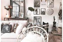 HOME SWEET HOME ❤️ / Décoration, maison, inspiration, architecture, décoration intérieure, salon, chambre, design.