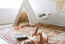 a space to play / If we must have a playroom, let us make it fun and creative...