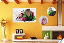Custom Wallcreations / Some wall murals, picture walls and wall art featuring friends and families!