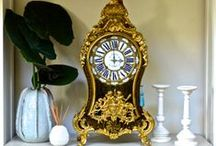 Our Antique clocks / With a large selection of long case, mantle, wall and carriage clocks, Time Out is guaranteed to have something which will give your setting a touch of elegance and grandeur.