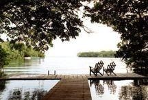 Summer Home / Inspiration, interior, patio, outdoor kitchen