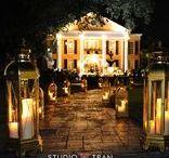 Evening Ceremonies-Southern Oaks Plantation / Magical evening ceremonies at Southern Oaks. #weddings #theknot #bride #wedding #Neworleans #NOLA #destinationwedding