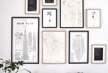 gallery wall / curated wall collections